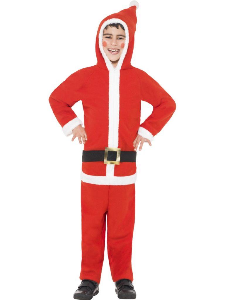 Kerstman onesie kids - Small