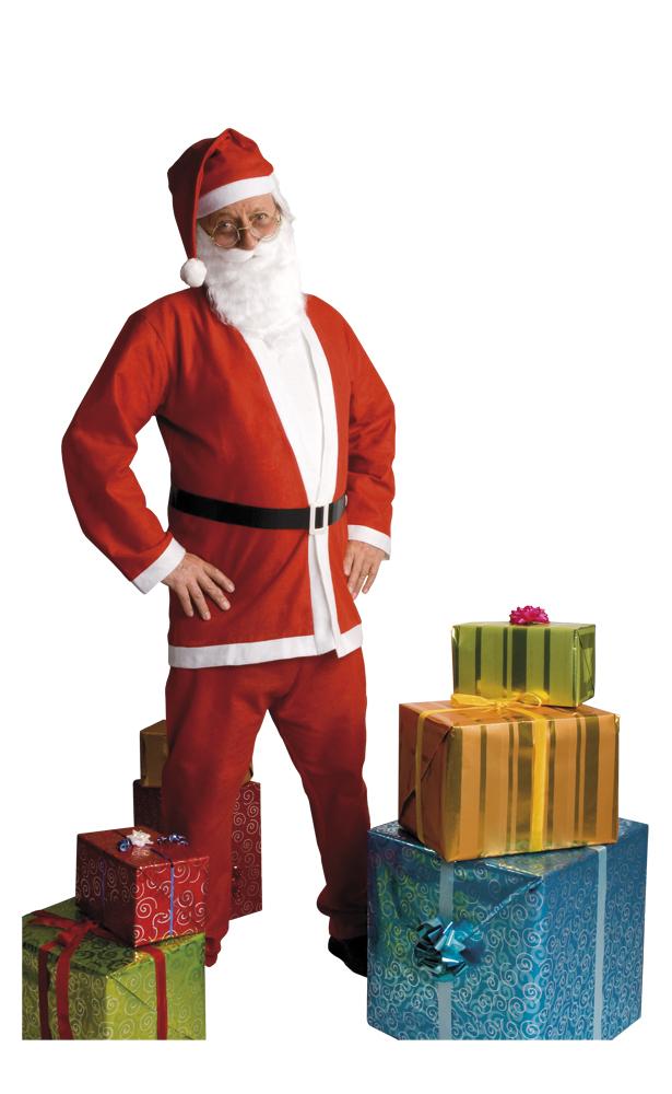 Kerstmanpak eenvoudig