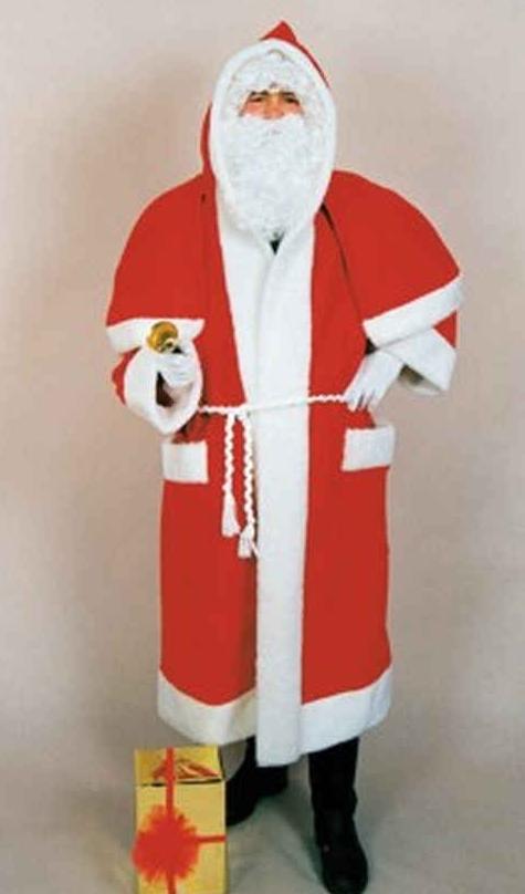 Kerstmanpak grote mantel