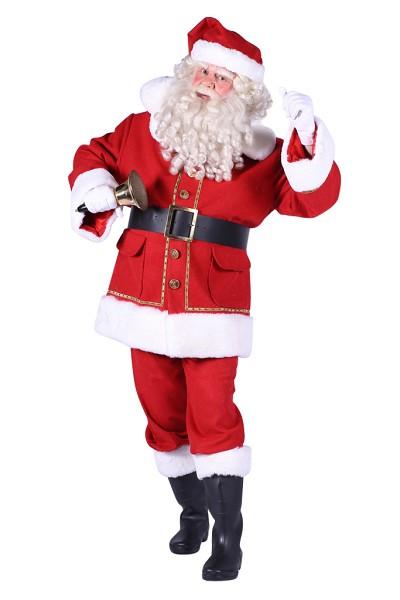 Kerstmanpak Natal polyester fluweel - Extra Extra Large