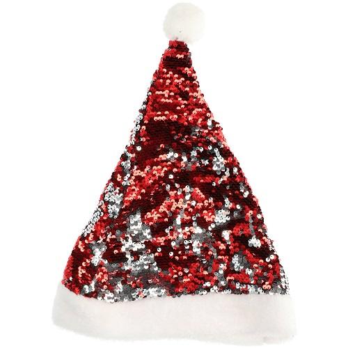 Kerstmuts pailletten omkeerbaar
