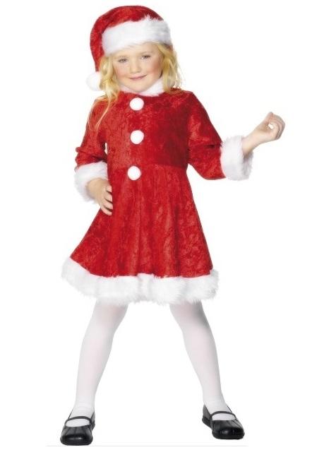 Kerstvrouw Mini miss santa - M