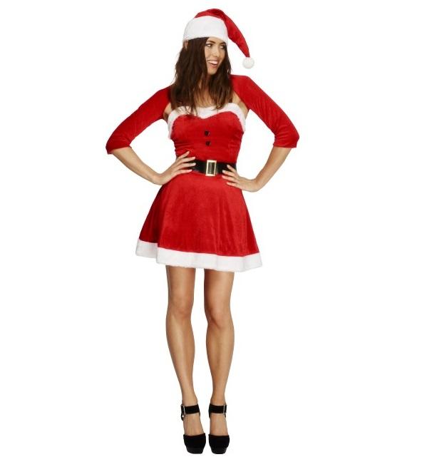 Kerstvrouw Santa Babe - medium