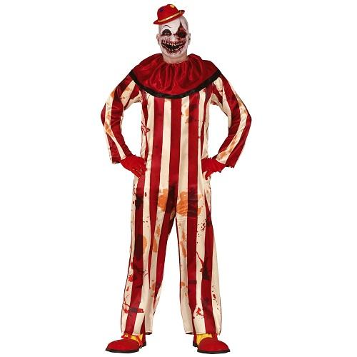 Killer clown kostuum vintage - L 52-54