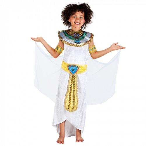 Kinderkostuum Egyptische Anuket 4-6 jaar