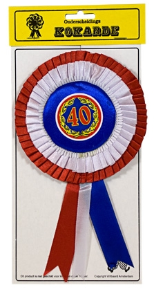 Kokarde 40 jaar