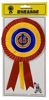 Kokarde 45 jaar