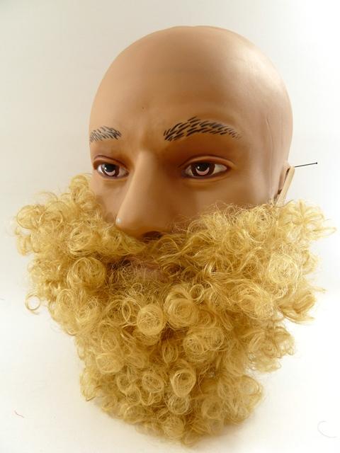 Korte baard blond