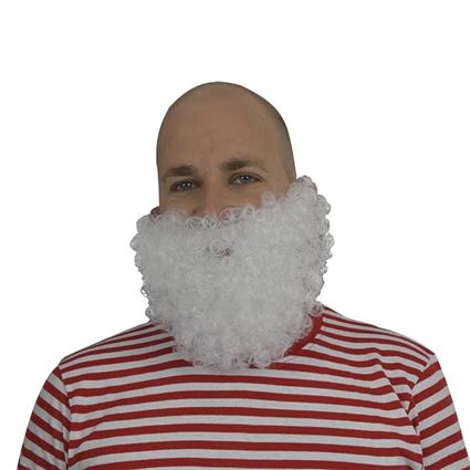 Korte baard wit