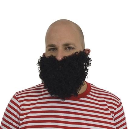 Korte baard zwart
