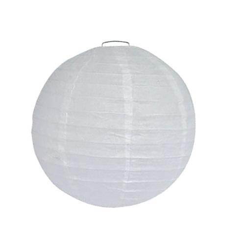 Lampion wit 25cm
