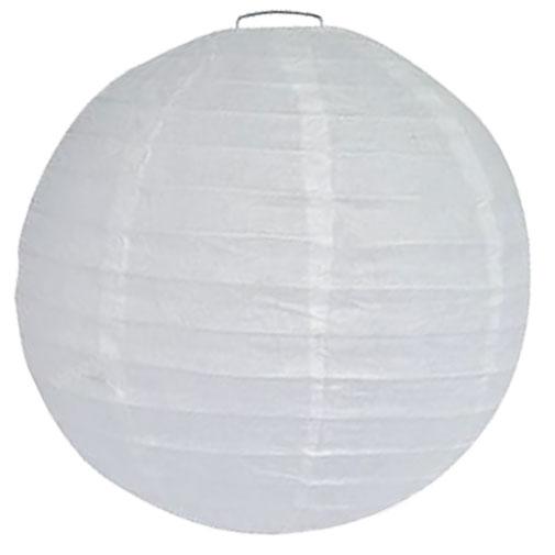 lampion wit 50cm