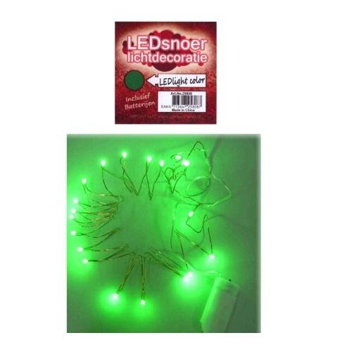 LED verlichting snoer groen