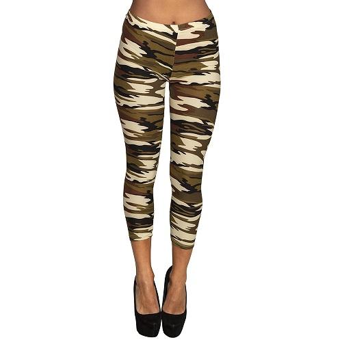 Legging camouflage print one size
