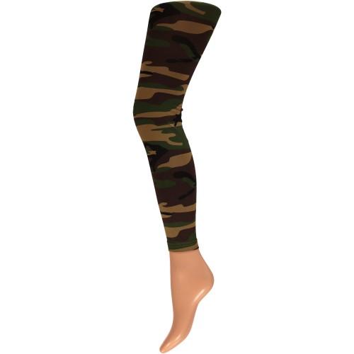 Legging camouflage print S/M