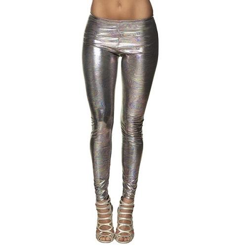 Legging disco holografisch