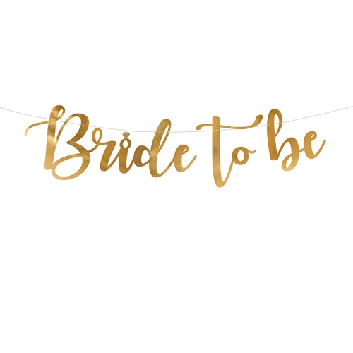 Letterslinger bride to be 80cm