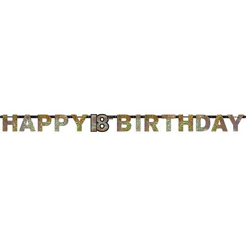 Letterslinger sparkling 18 jaar