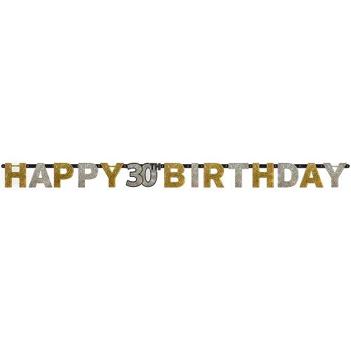Letterslinger sparkling 30 jaar