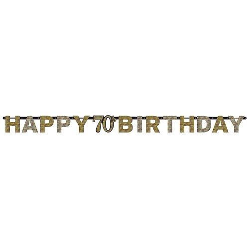 Letterslinger sparkling 70 jaar