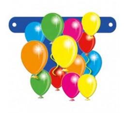 Letterslinger spatie ballonnen