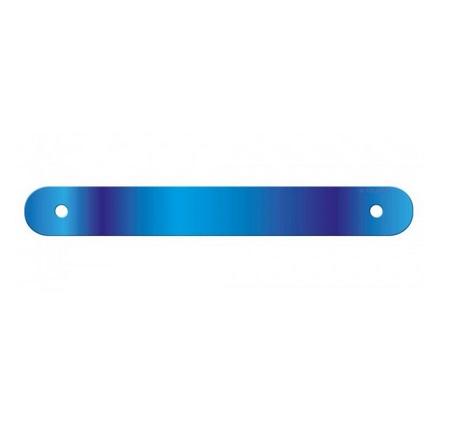 Letterslinger spatie blanco blauw