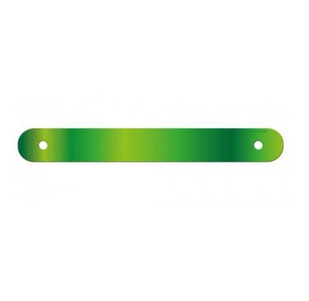Letterslinger spatie blanco groen
