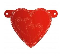 Letterslinger spatie hart
