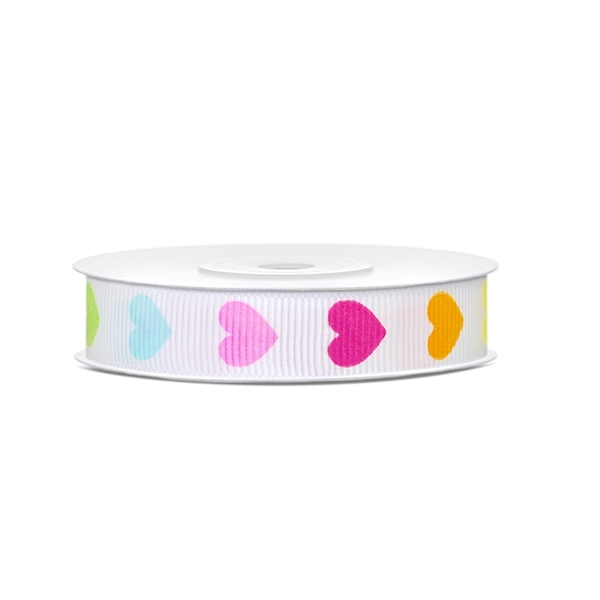 lint colourful hearts 12mm