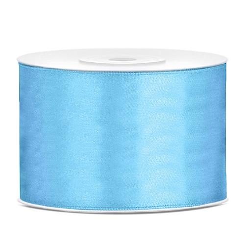 Lint satijn licht blauw 50mm 25m