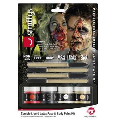 Liquid latex kit horror zombie