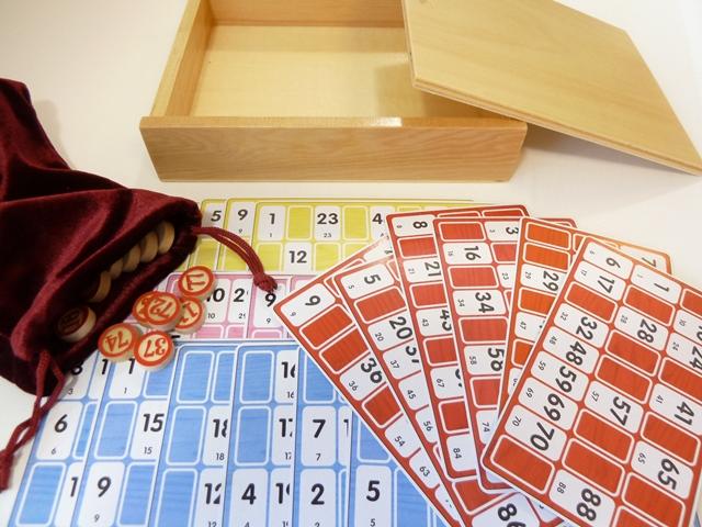 Lotto, kienen bingo set