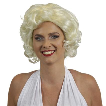 Marilyn Monroe pruik blond