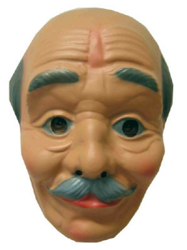 Masker Abraham kaal