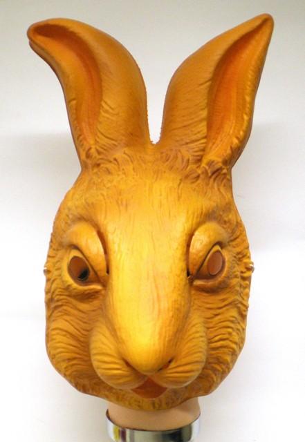 Masker konijn bruin