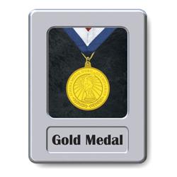 Medaille goud metaal