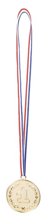 Medailles 3 stuks goud