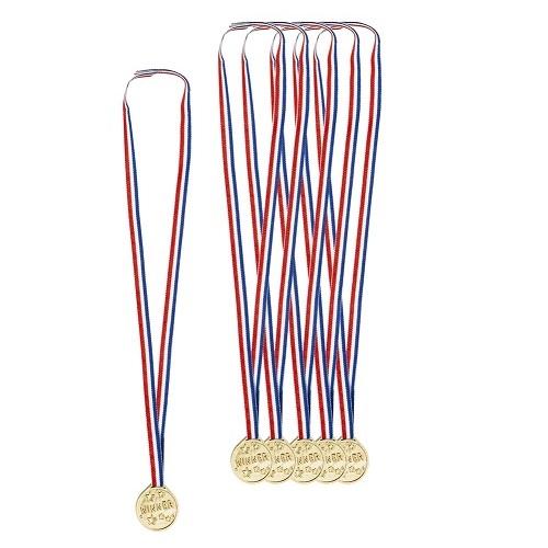 Medailles 6 stuks winner