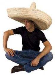 Mega Sombrero naturel