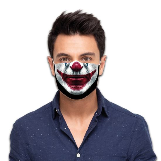 Mondmasker Scary clown
