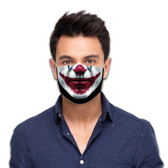 Mondmasker Scary clown