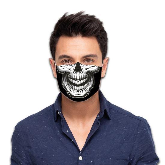 Mondmasker Skull
