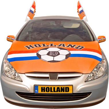 Motorkap hoes oranje