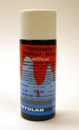 Nepbloed transparant film 100ml - donker