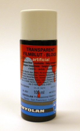Nepbloed transparant film 100ml - licht
