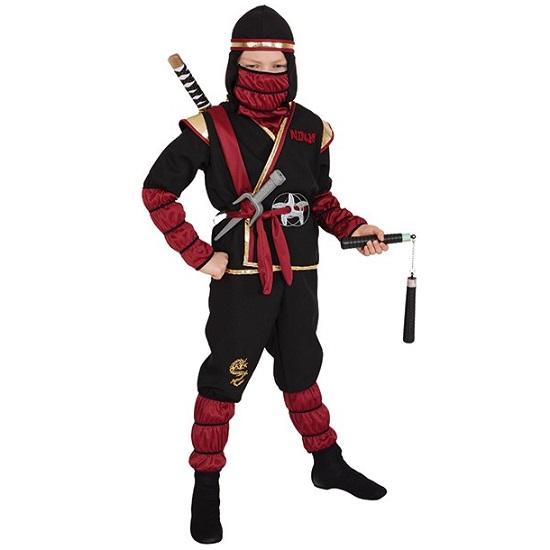 Ninja kostuum kids luxe - 152/164