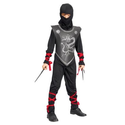 Ninja pak kind Ninjutsu  - 4-6 jaar 110/120cm