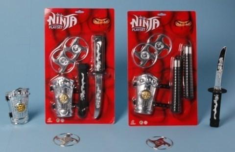 Ninja set klein van 4.95 ass.