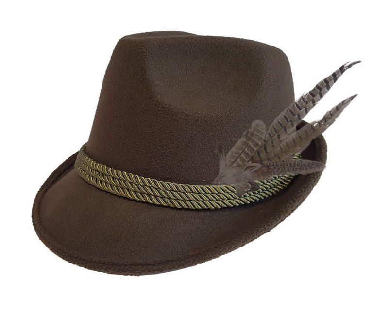 Oktoberfest hoed groen luxe
