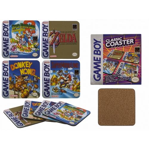 Onderzetters Game Boy classics 4st